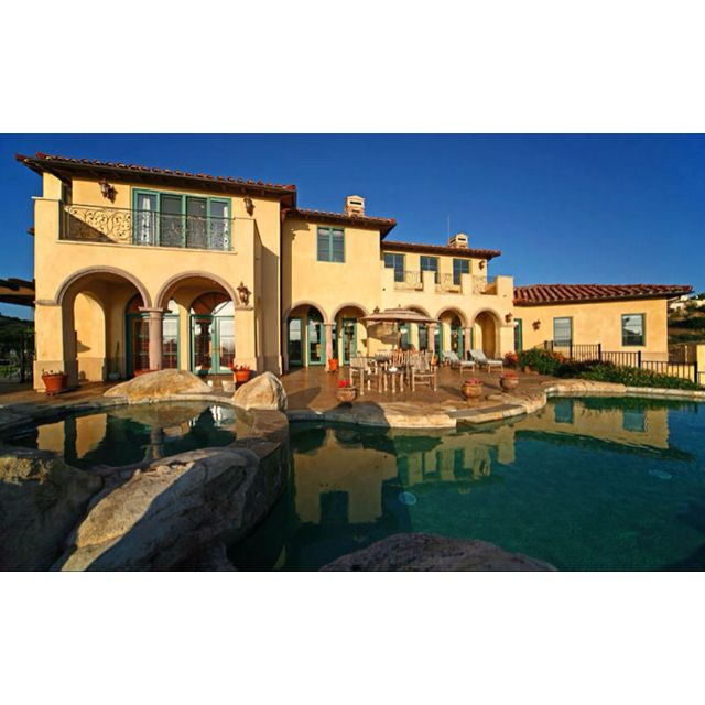 Spanish inspired home/pool