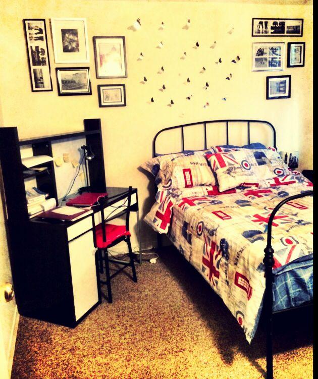 Bedroom wall decoration, Bedroom DIY decor Small bedroom decoration ...