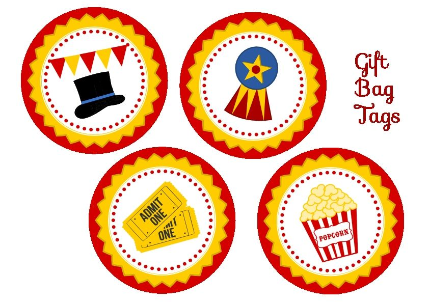 free circus birthday party printables from printabelle. Black Bedroom Furniture Sets. Home Design Ideas