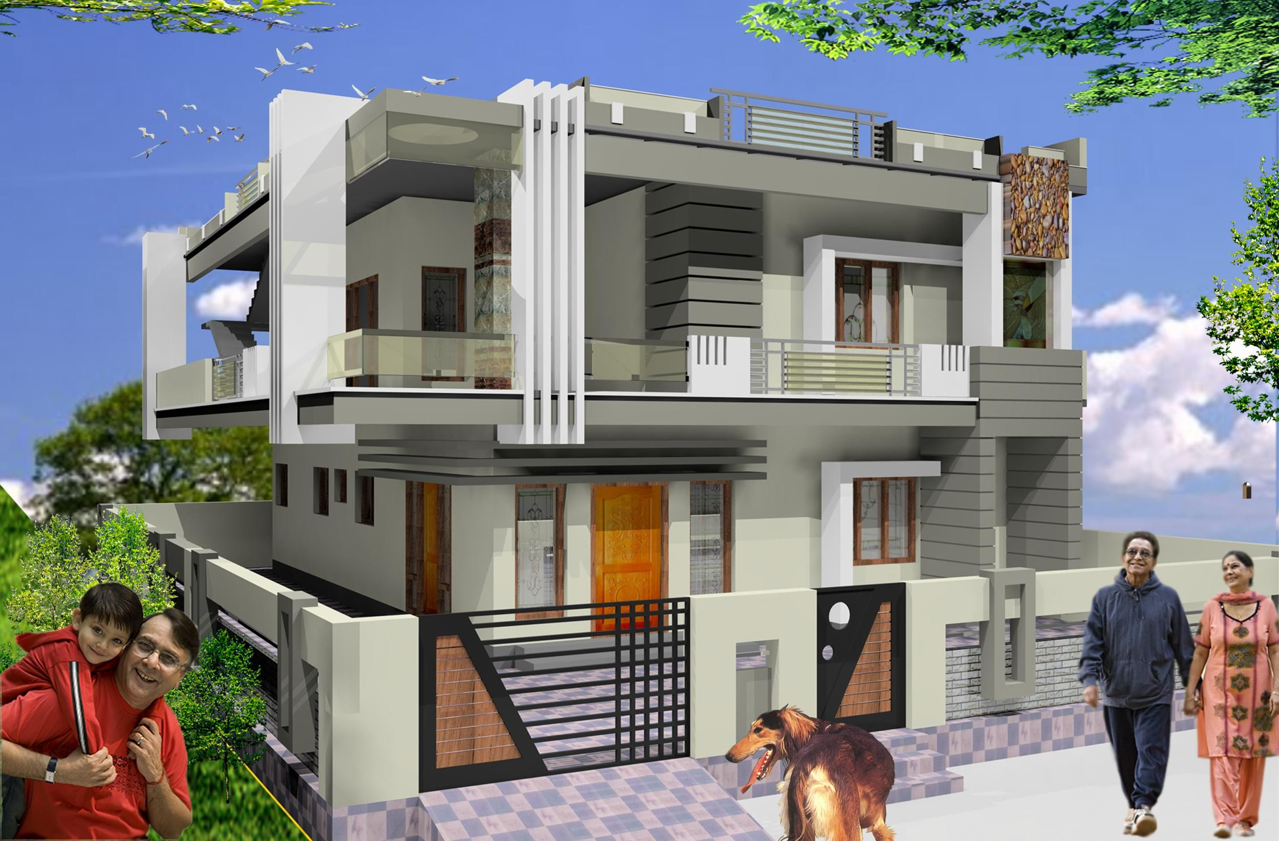 Front Design Of House Double Storey Part - 38: ICYMI: Front Design Of House Double Storey