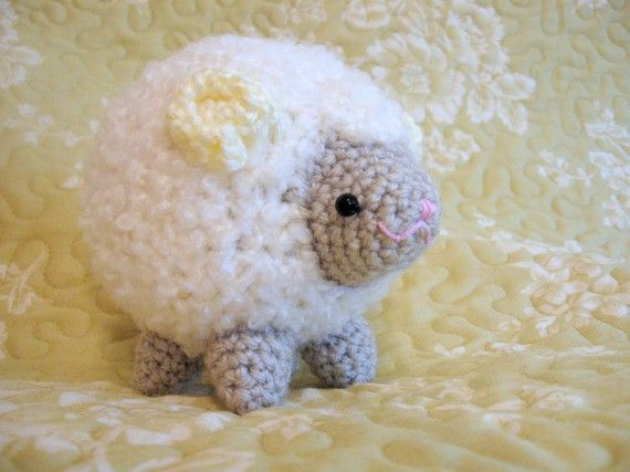 Amigurumi Crochet Pattern - Sheep Cloud