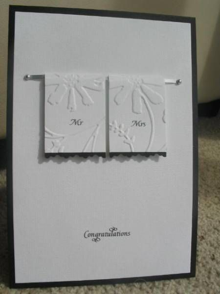 Wedding Card By Tilly