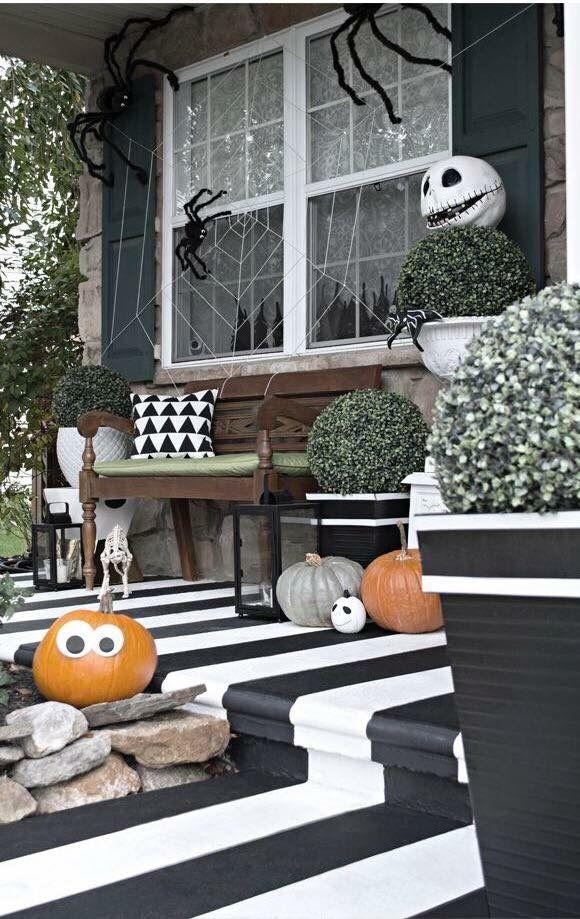 Halloween house decor ;; amazing ⍡яᎥck\u0027и ᗩℕↁ ⍡яє⍲t\u0027и - halloween house decorating ideas