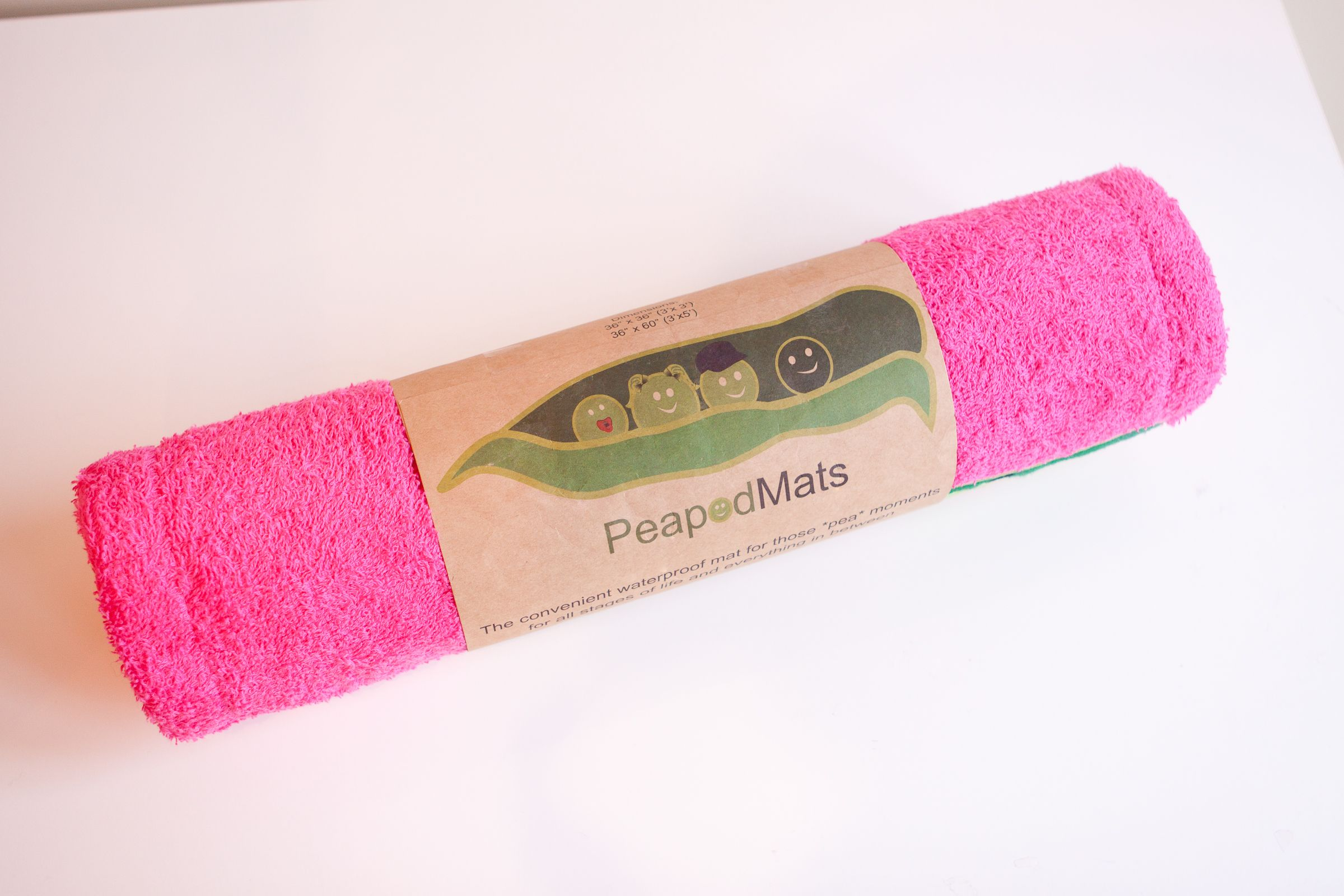 PeapodMats because accidents happen! These super