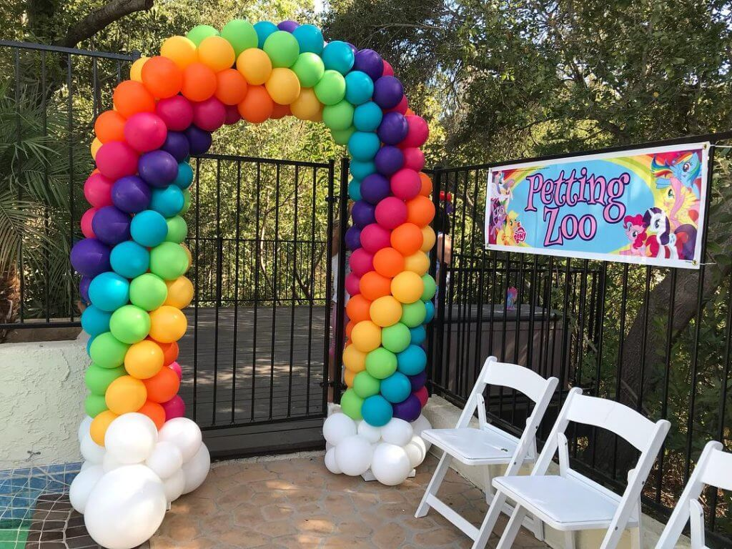 Arches With Images Rainbow Balloons Rainbow Balloon Arch My