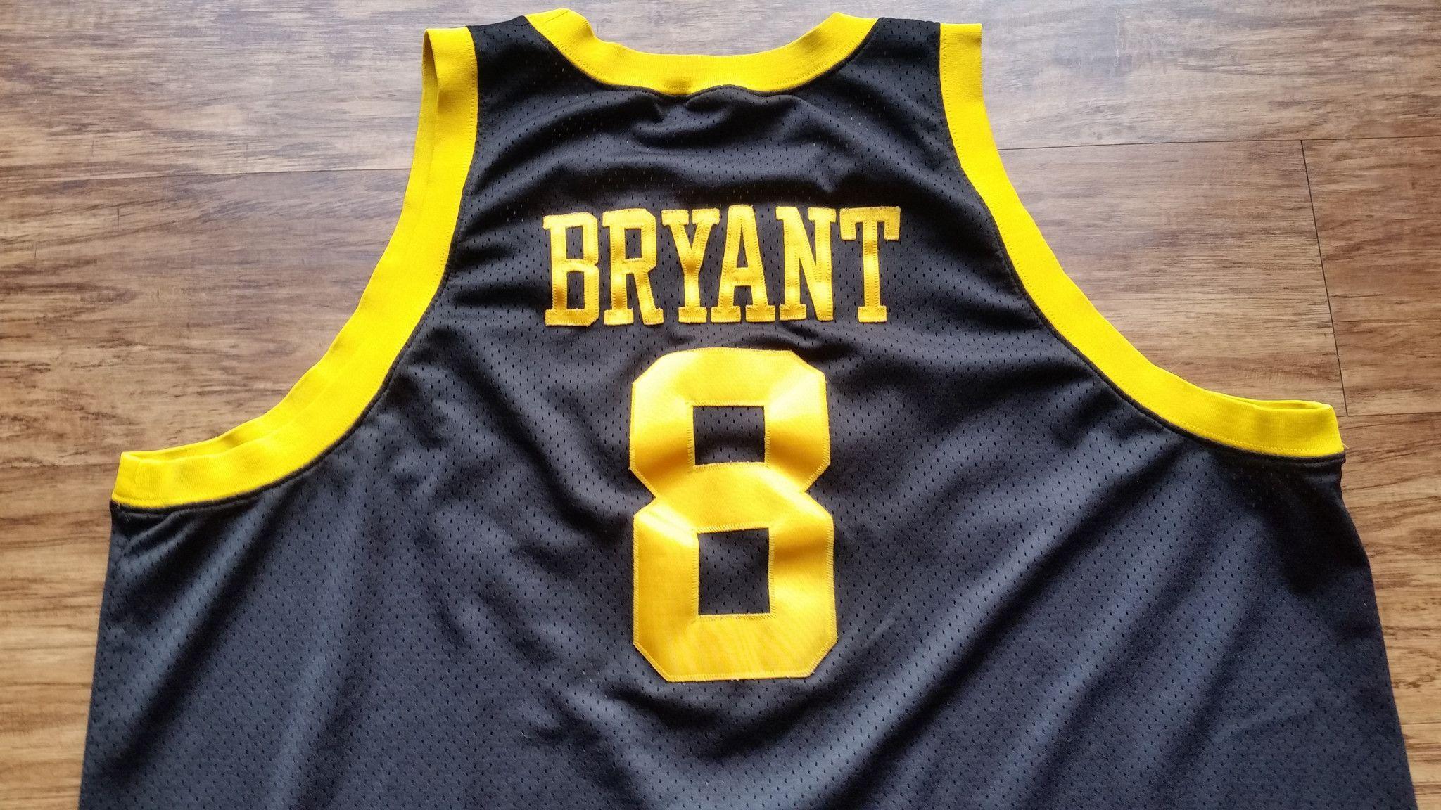 54209dac2ff9 Kobe Bryant  8 Los Angeles Lakers Jersey Vintage NIKE Rewind Rare 1957 Mens  4XL