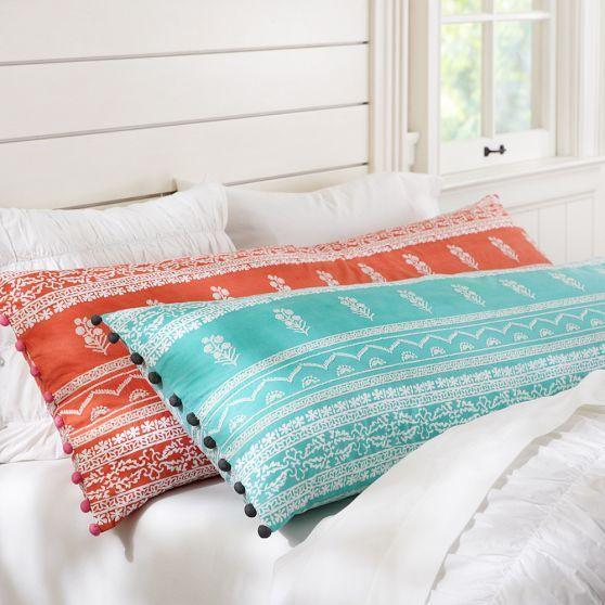 Traditional Indian block-print designs pattern body pillow cover & Traditional Indian block-print designs pattern body pillow cover ... pillowsntoast.com