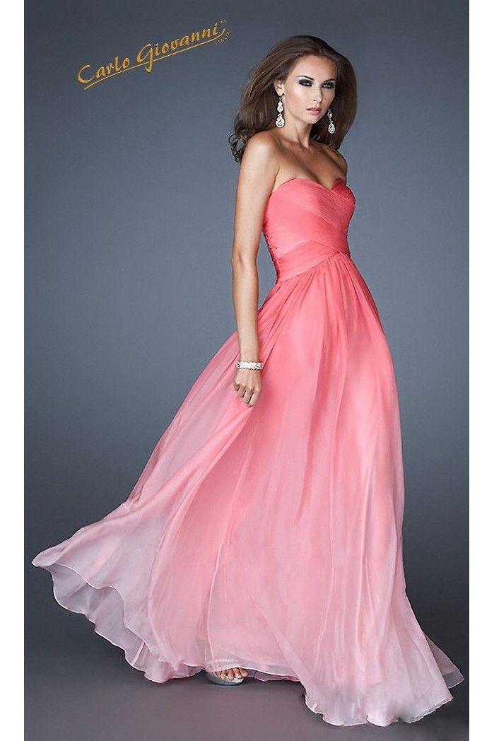 vestido largo graduación-EEVL170048B | Vestidos elegantes ...