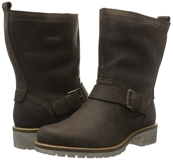 factory price 8e72d 4b541 Ecco Damen Elaine Biker Boots: Amazon.de: Schuhe ...
