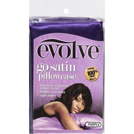 Satin Pillowcase For Hair Interesting Evolve Go Satin Pillowcase Purple Satin Pillowcase Walmart And