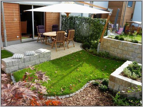 Gartengestaltung Kleiner Garten Sichtschutz garten Pinterest