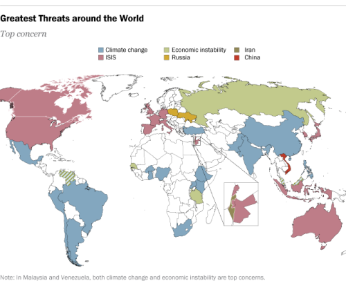 Greatest threats around the world what each country perceives to greatest threats around the world what each country perceives to be its greatest threat publicscrutiny Image collections