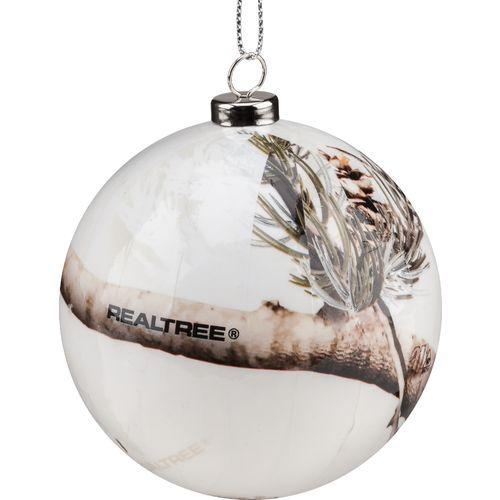 Realtree Snow Camo Christmas Ornaments 4-Pack