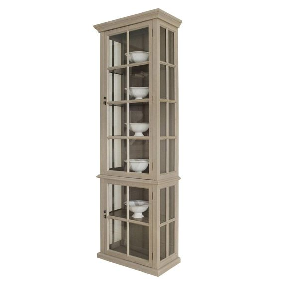 Casement Glass Display Cabinet, Small