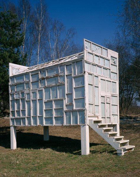 """""""Pavilion for vodka Ceremonies"""", 2004. Alexander Brodsky"""