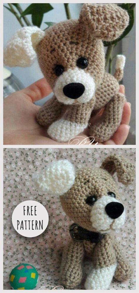 Amigurumi Sweet Dog Free Pattern | Crochet : animales | Pinterest ...
