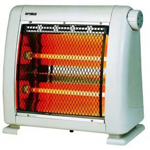 Optimus H5210 Heater Infrared Quartz Radiant 400w Or 800w By