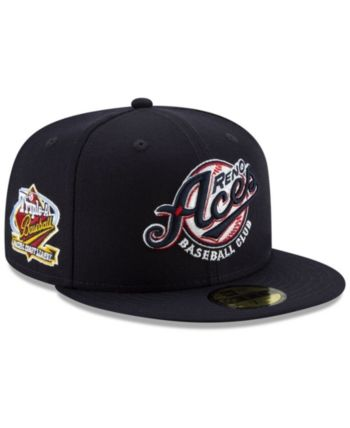 New Era Reno Aces League Patch 59FIFTY-fitted Cap - Blue 7 1