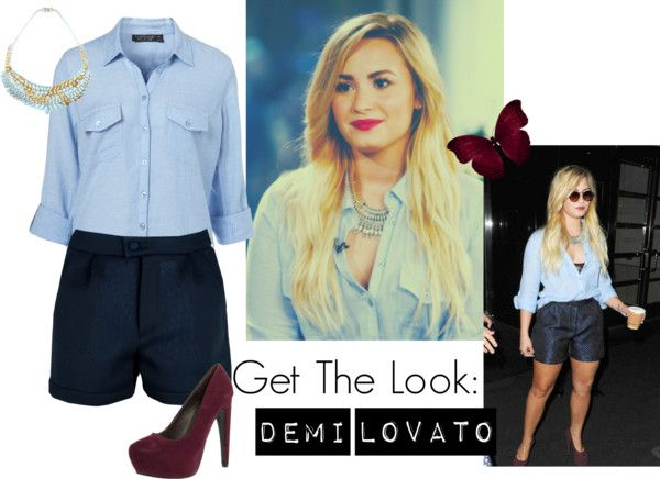 """GTL: Demi Lovato"" by loving-you-paynefully ❤ liked on Polyvore"