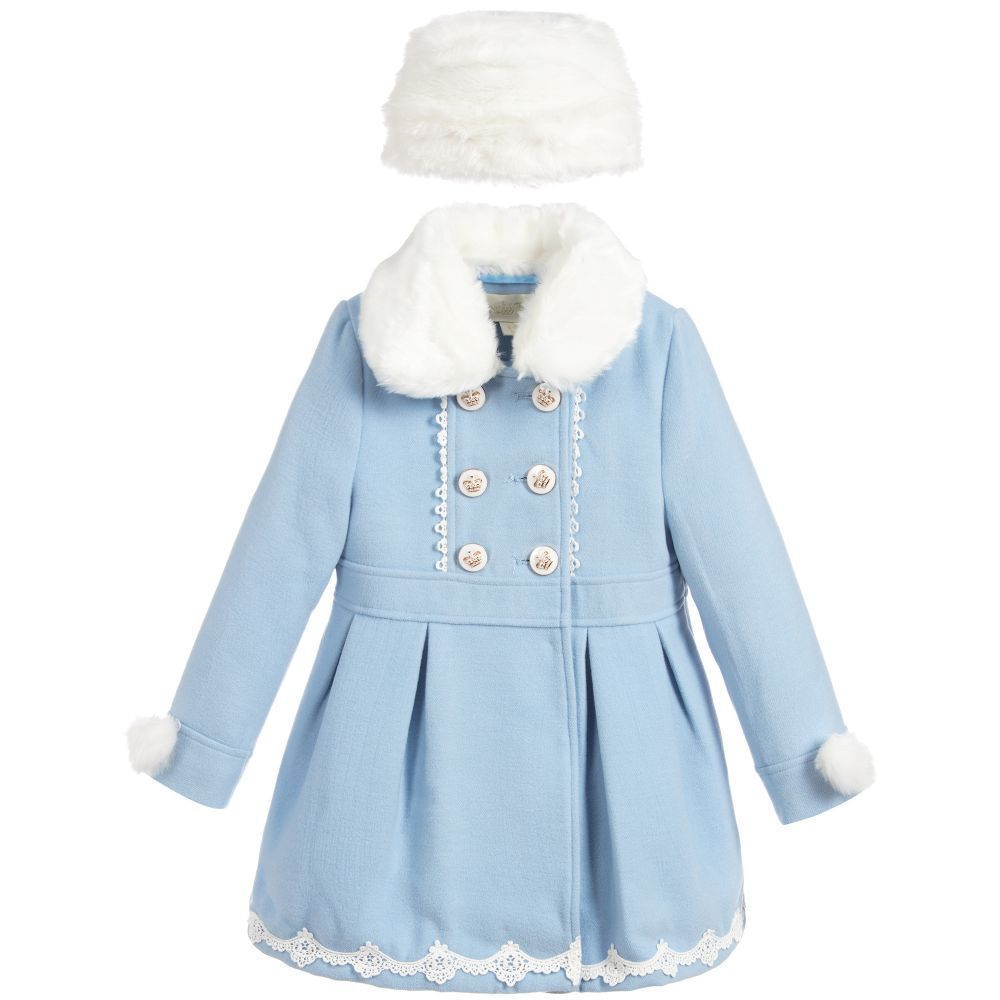 Mayoral Baby Girls Double Breast Long Sweater With Hood