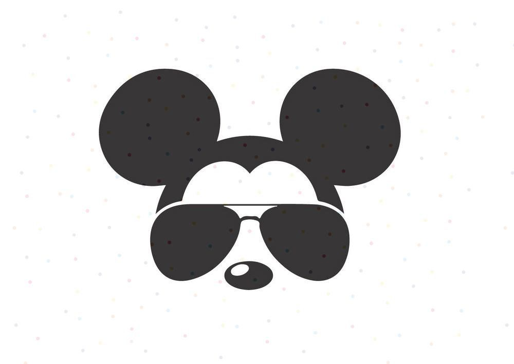 f61934aa21 Excited to share this item from my  etsy shop  Mickey Mouse Sunglasses SVG