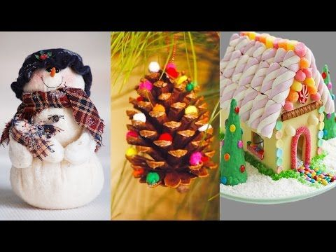 10 DIY Projects for Christmas & Winter! Decorating ideas for a Frozen Room! DIY ROOM DECOR - YouTube