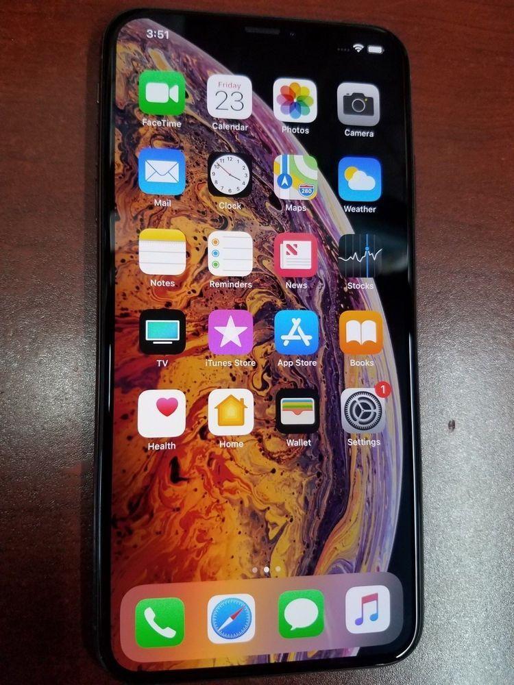 Apple iphone xs max 64gb gold tmobile a1921