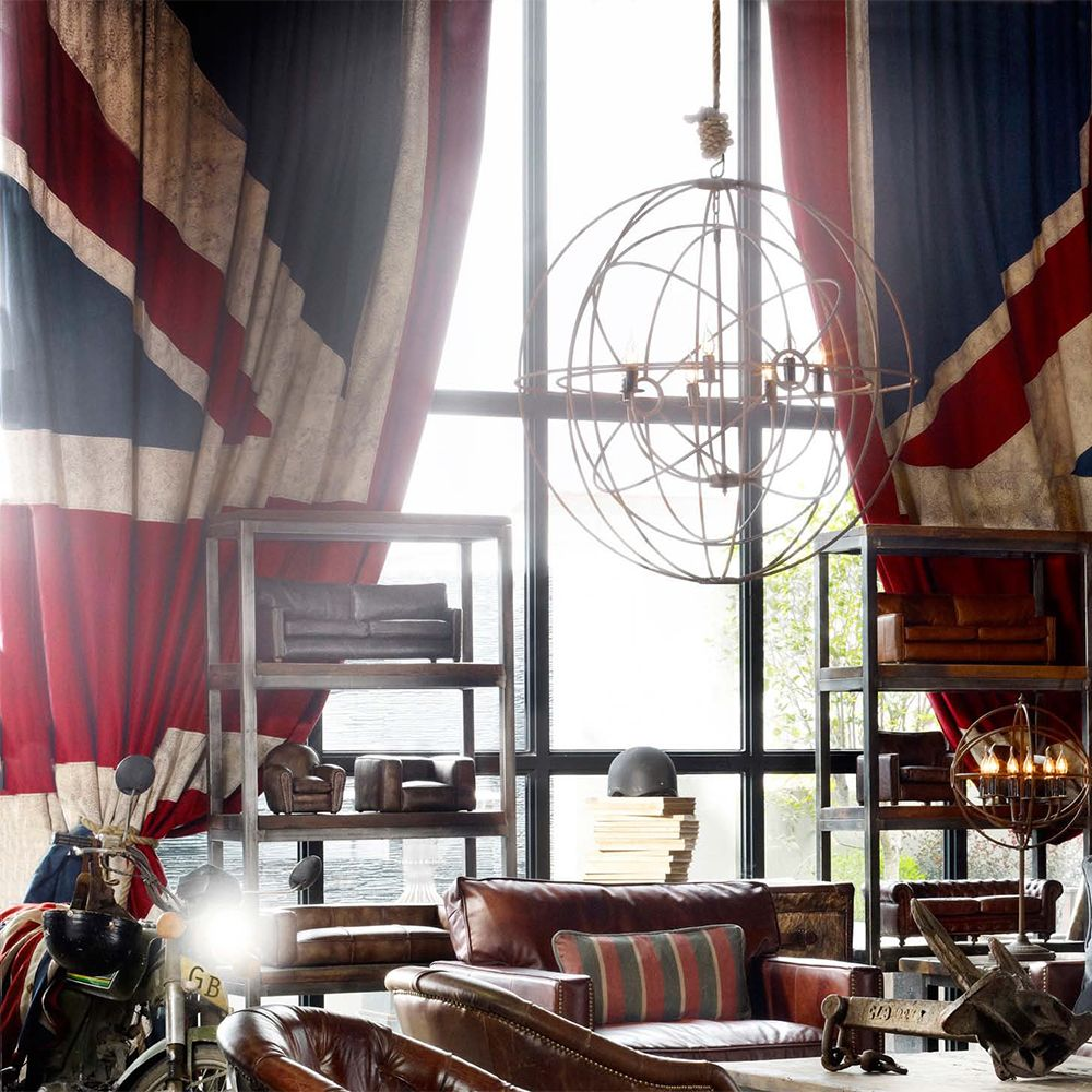 Curtains (Vintage Union Jack) | Decorative | Living Room | London ...