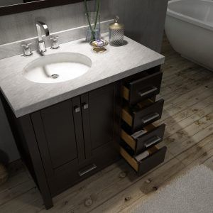 48 Bathroom Vanity With Left Offset Sink