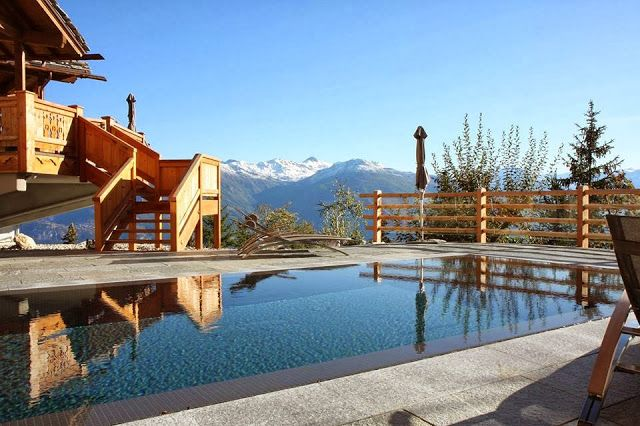 Lecrans Hotel Spa Switzerland Luxury Hotels Hotel Spa