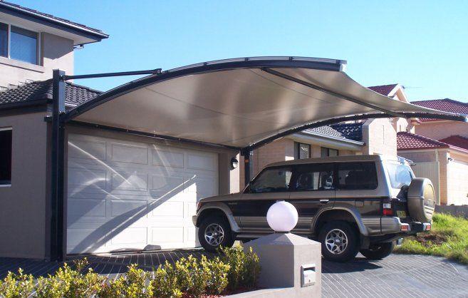 Abacus shade structures toldos pinterest cochera - Garaje para coches ...