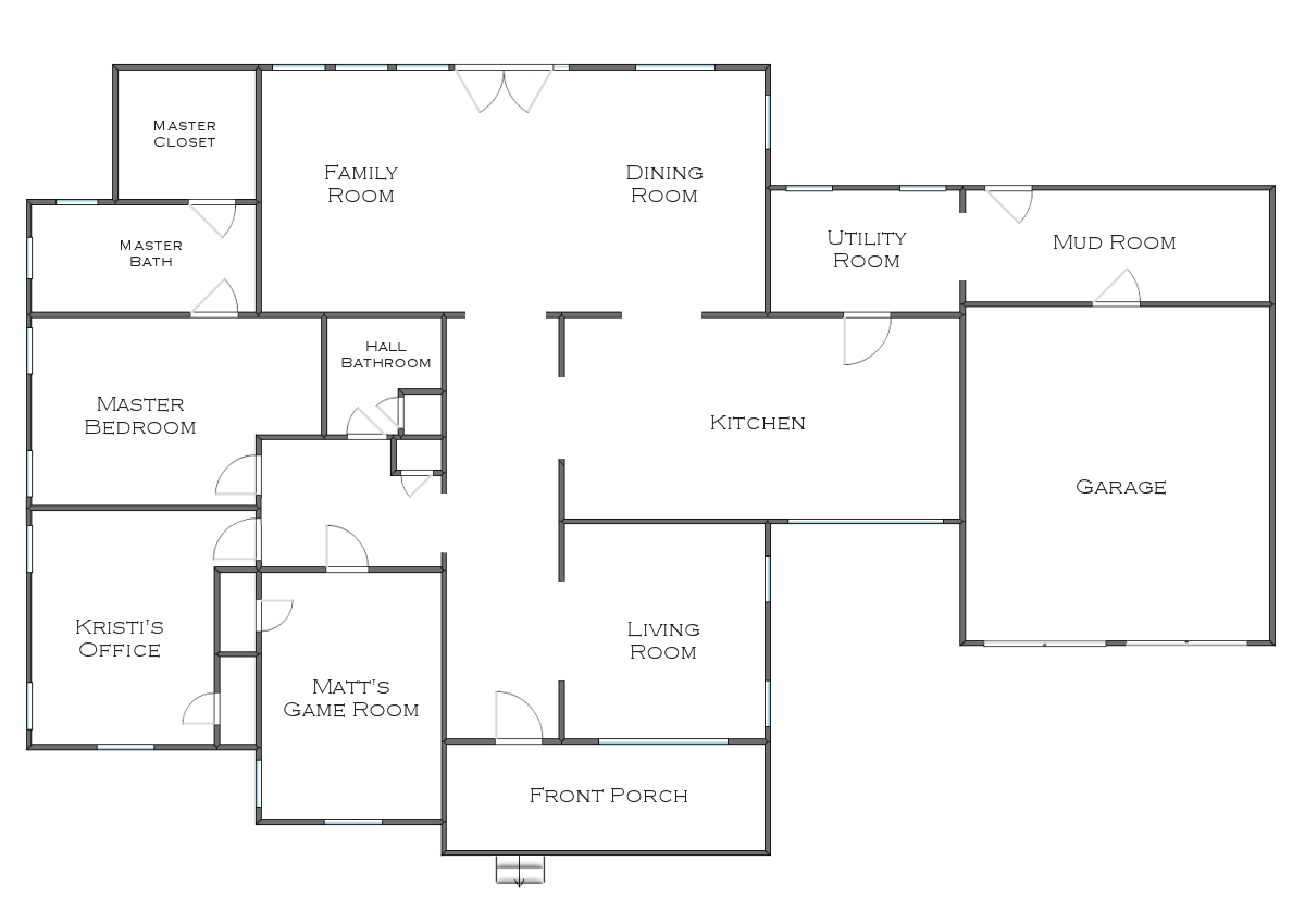 My house layout