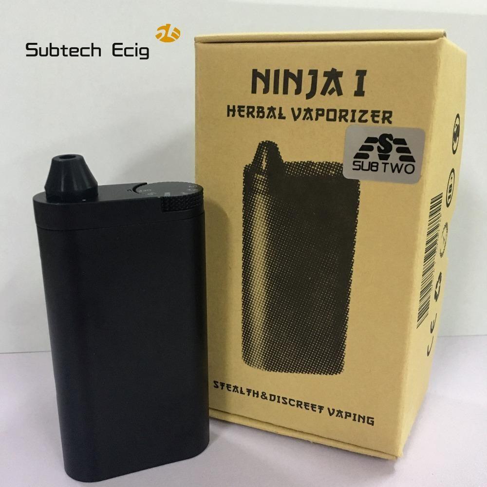 SUB TWO Ninja Dry Herb Vaporizer Dry herb vaporizer