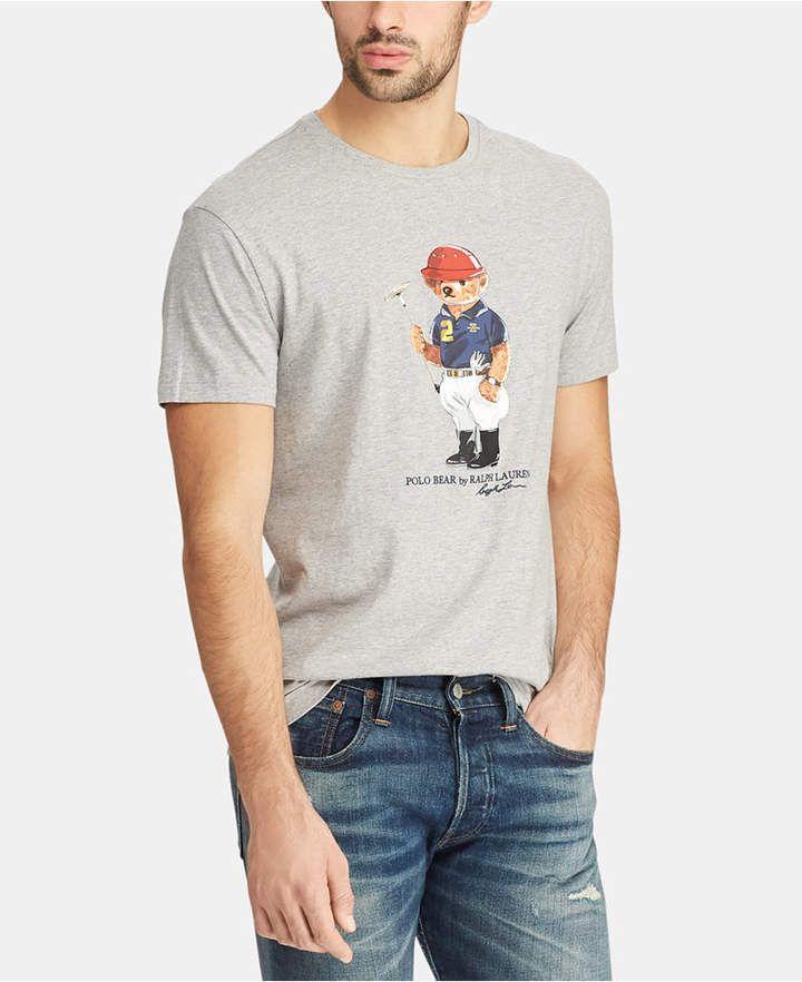 classic fit polo bear shirt