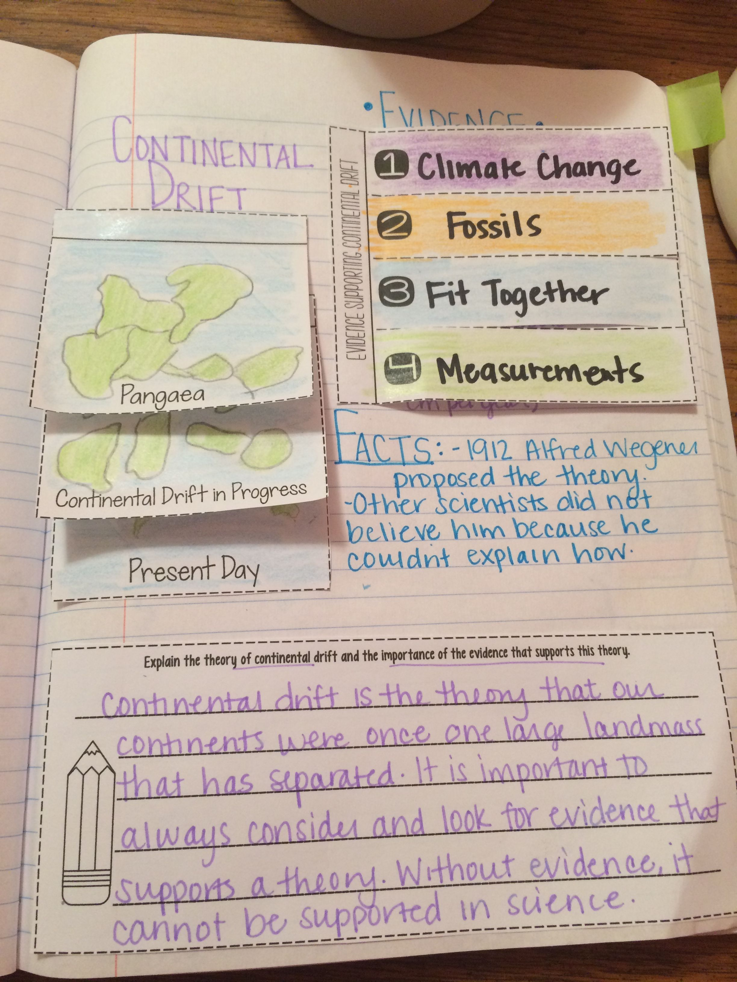 Continental Drift Read And Apply Ngss Ms Ess2 3 Aligned