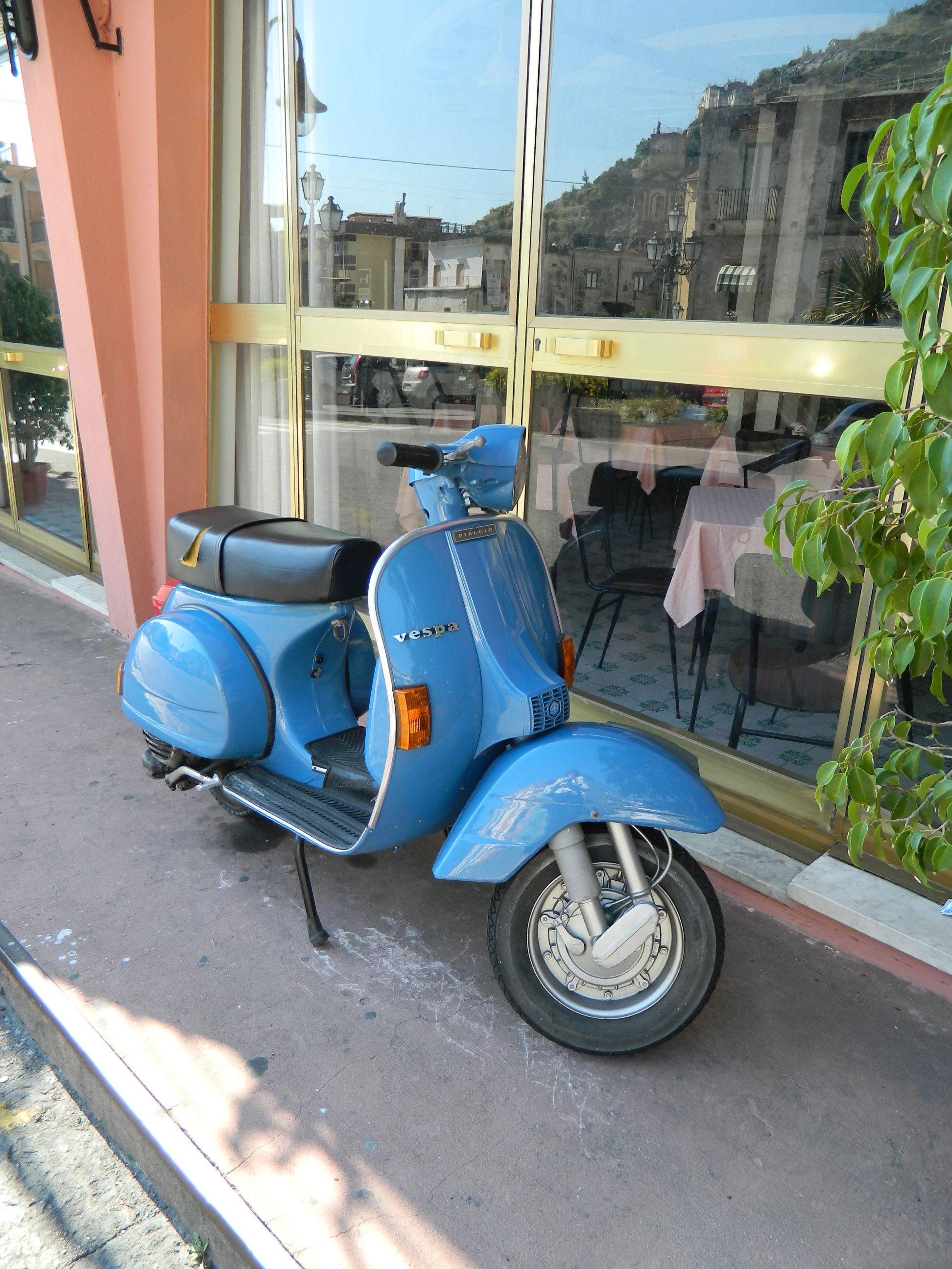 Vespa Scooters of Minori, Italy