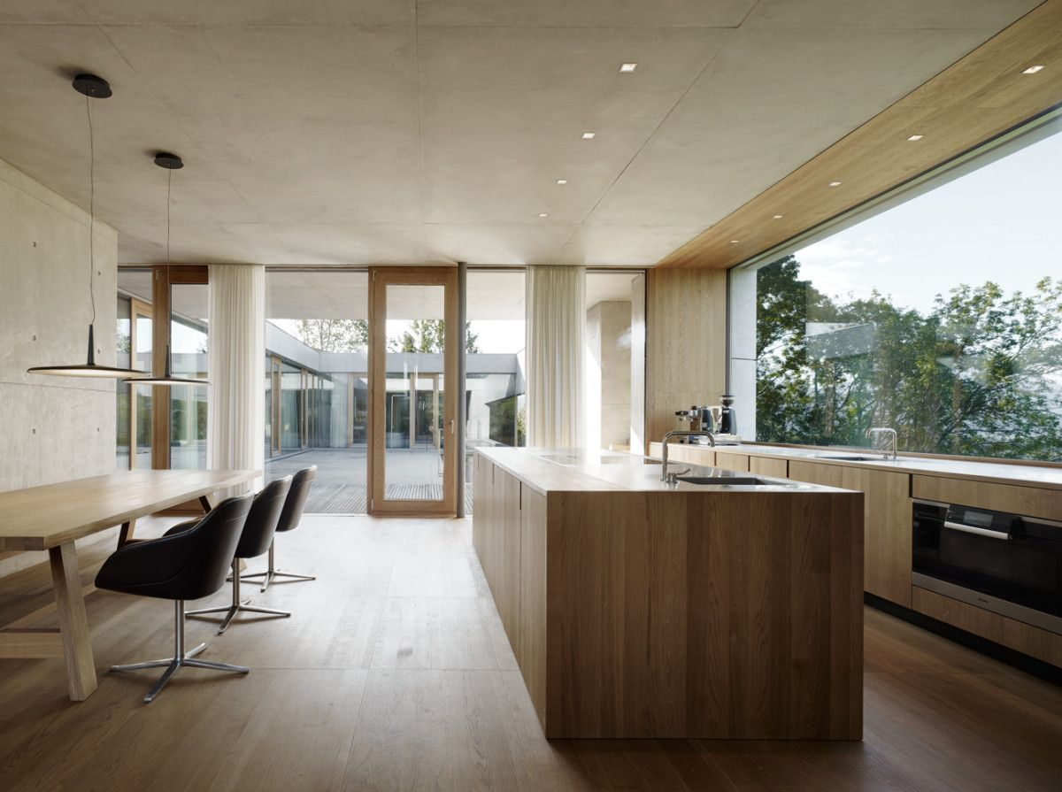 Einsichten In Sichtbeton Einrichten Und Wohnen Sichtbeton Küche