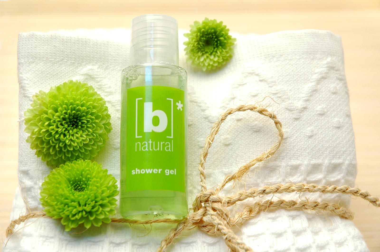 B natural: the Ecolabel certified amenities line! www.allegriniamenities.com