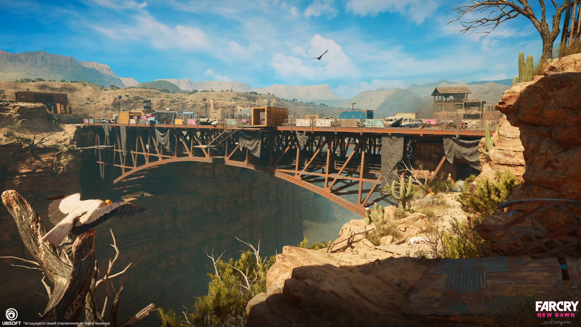 Artstation Far Cry New Dawn Expedition Navajo Bridge Loading