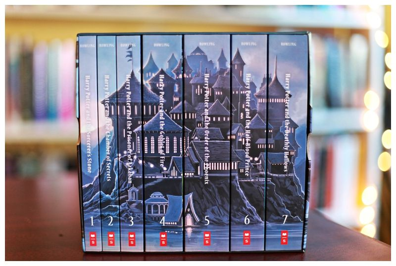 harry potter book set - Google Search