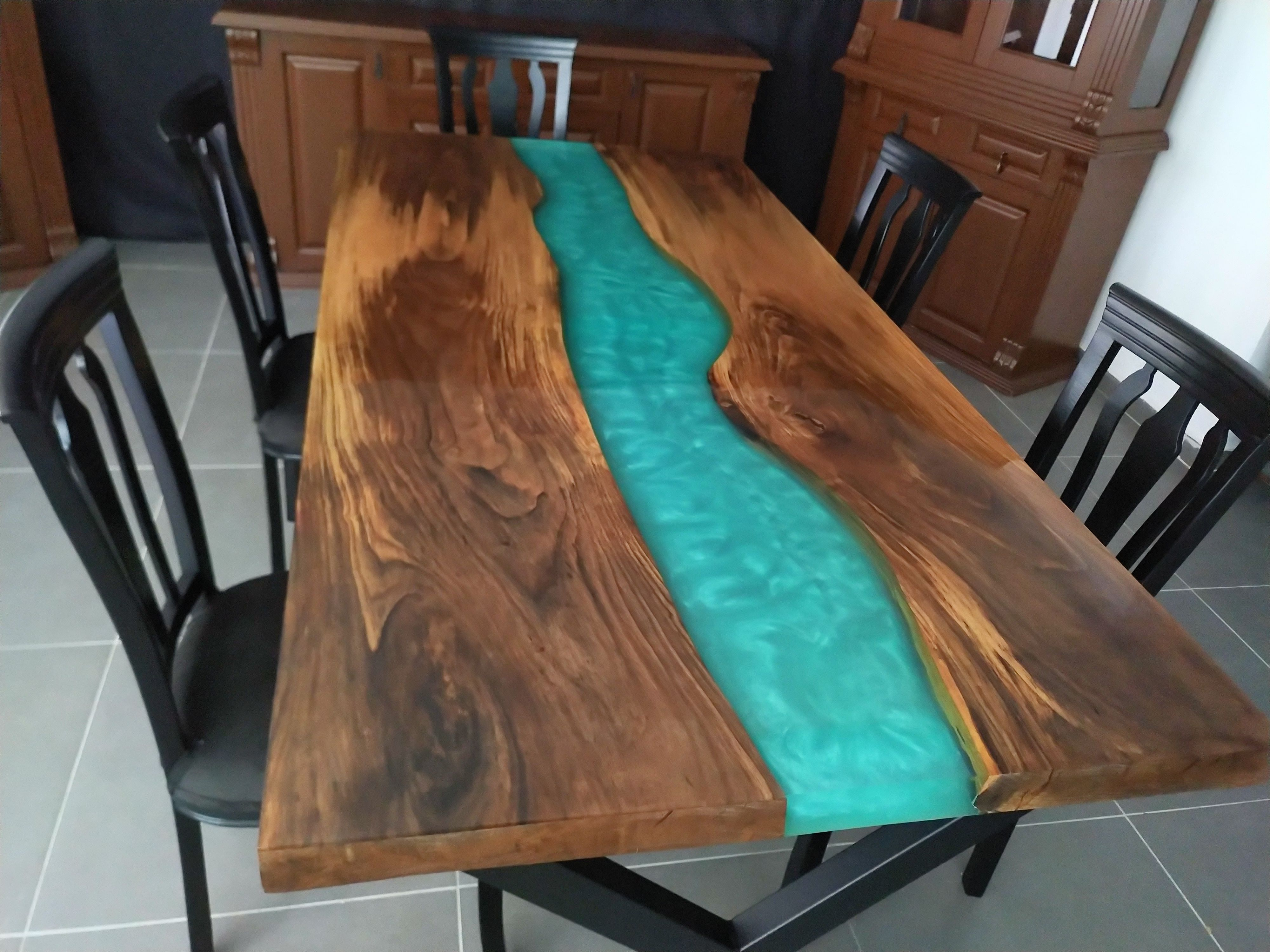 Epoxy Table Dining Table Epoxy Resin Dining Table River Table