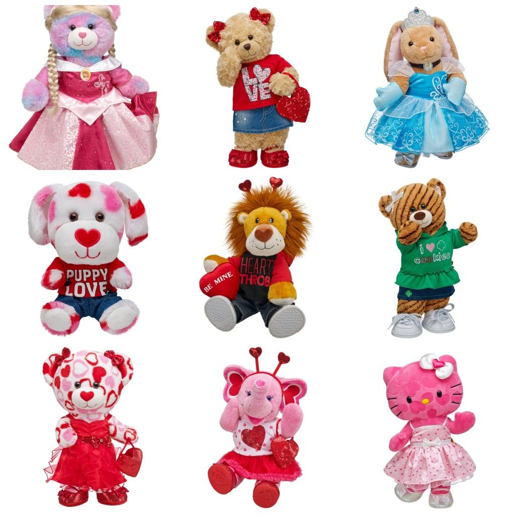 Build A Bear Workshop Valentine S Day Review And 25 Gc Giveaway Teddy Bear Stuffed Animal Build A Bear Bear Stuffed Animal
