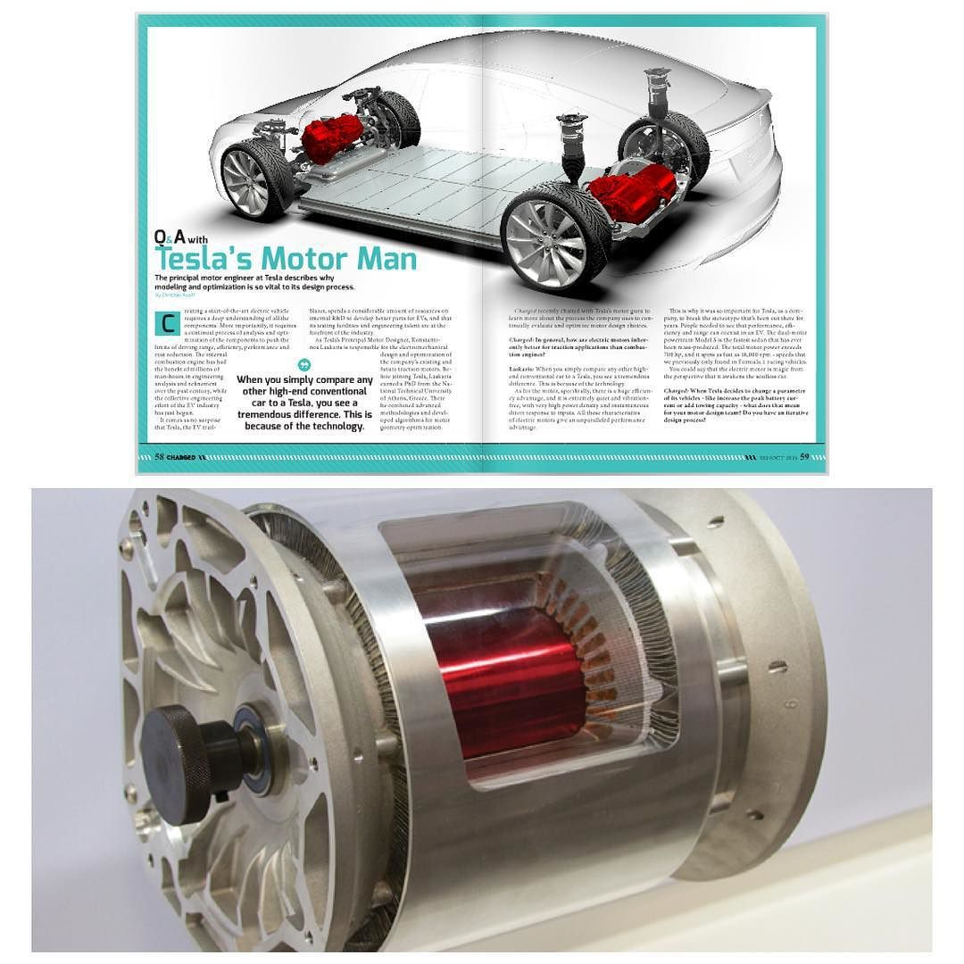 Teslas Electric Vehicle (Ev) Motor Design Vs. The Traditional Internal  Combustion Engine Read An Interview With Teslas Lead Motor Engineer For A  Look Into