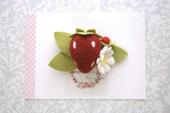 Strawberry Baby Headband 75d4e8f8619