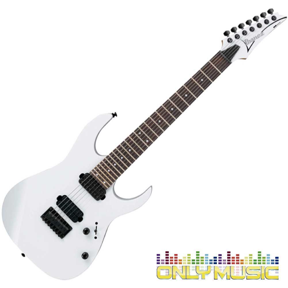 Guitarra Ibanez Eléctrica RG Blanca de 7 Cuerdas   Guitarras ...