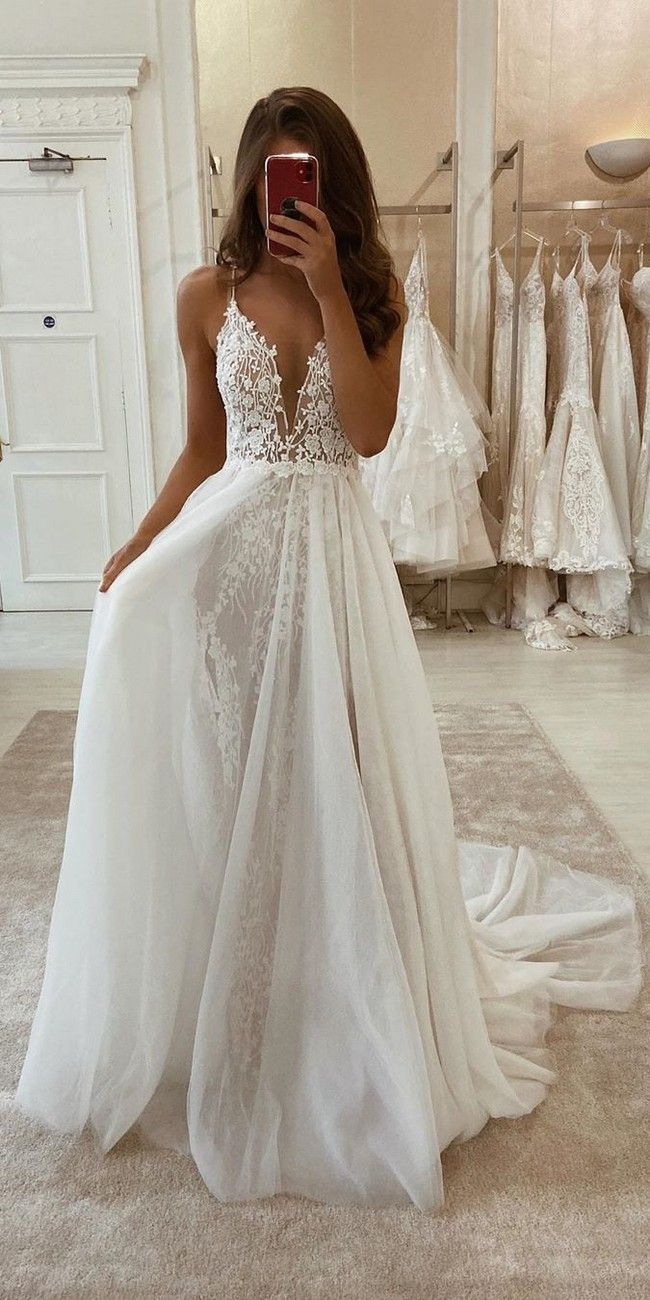 28 Lace Wedding Dresses from eleganza sposa | Oh The Wedding Day Is Coming…