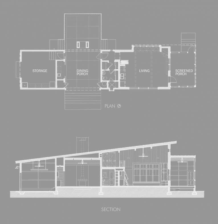 Modern dogtrot | Dog trot house, Dog trot house plans, House