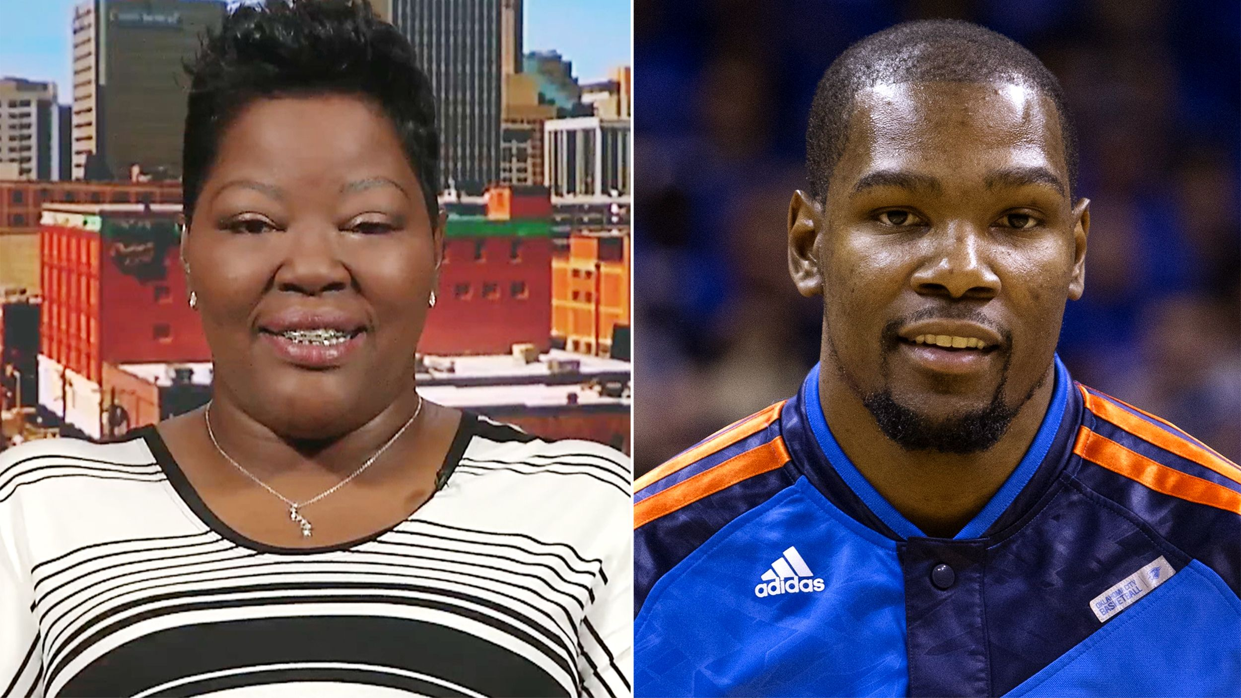 b3fd675f0b4 Kevin Durant s mom   Commit yourself  to your children s dreams ...