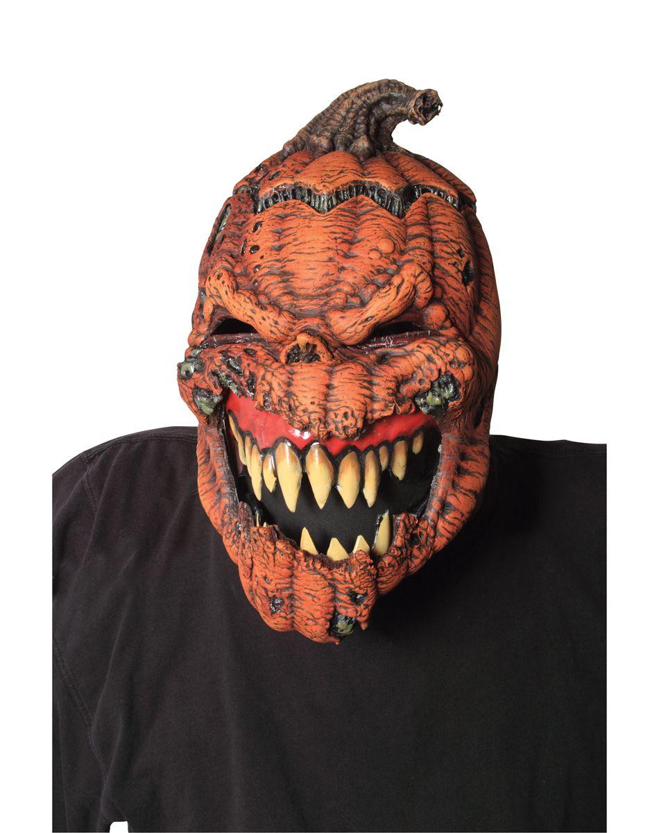 Pumpkin Animotion Mask – Spirit Halloween | Evil pins | Pinterest ...