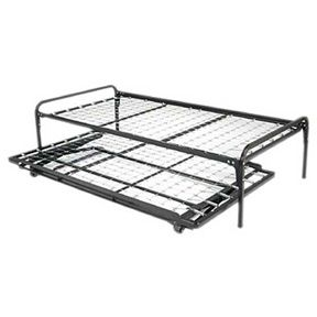 Twin Size Daybed Style Simple Metal Platform Bed Frame Pop Up